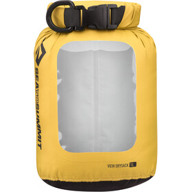 Sea to Summit View Dry Sack 1L spray bottle, yellow